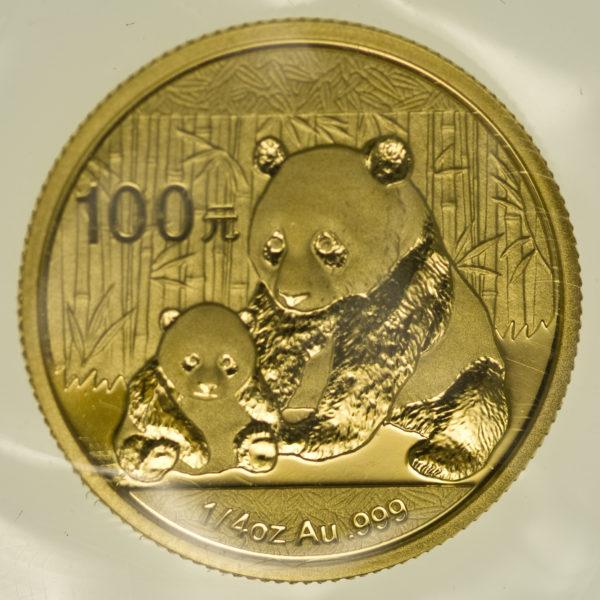 china - China Panda 1/4 Unze 1988