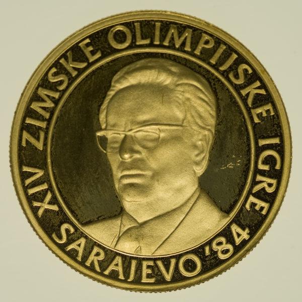 jugoslawien - Jugoslawien 5000 Dinar 1983