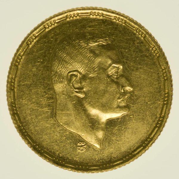 Ägypten Pfund 1970 Gold 7 Gramm fein RAR