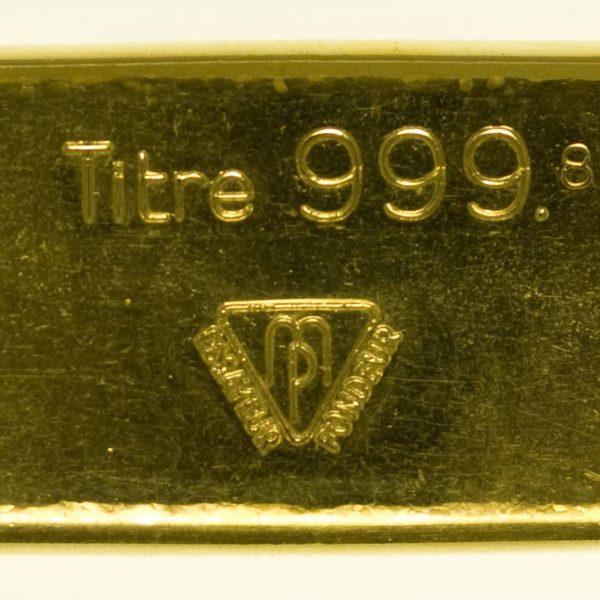 Goldbarren 100 Gramm Schweiz S.B.S. Metaux Precieux Metalor Technologies SA RAR