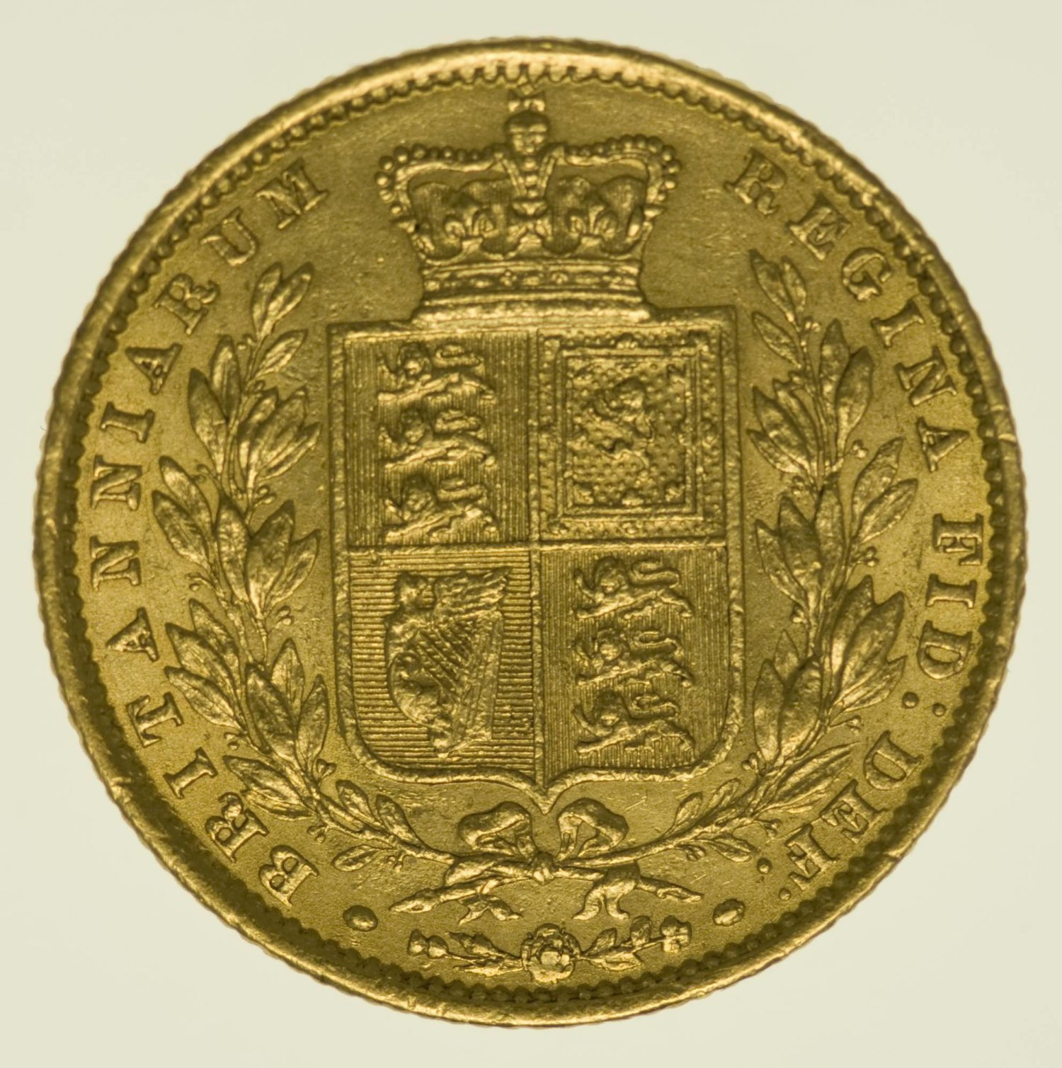 Grossbritannien Victoria Sovereign 1861 Gold 7,32 Gramm fein RAR