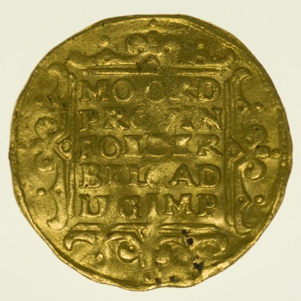Niederlande Dukat 1648 Gold 3,42 Gramm RAR