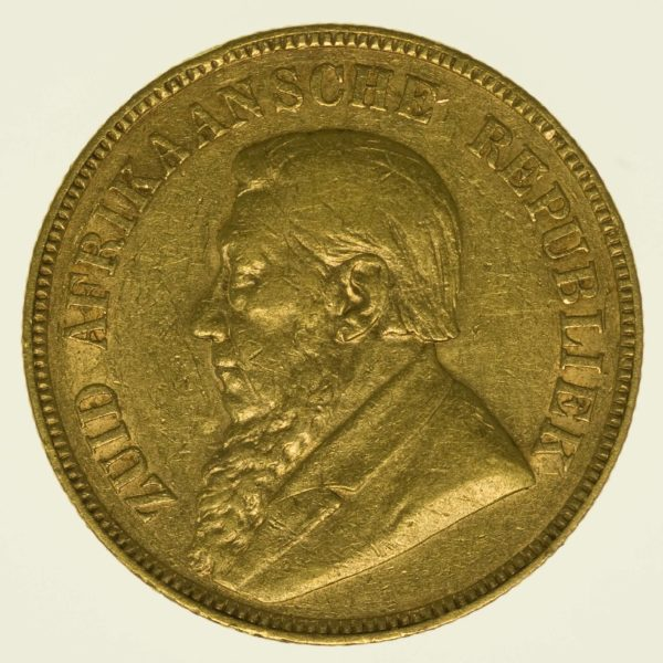 Südafrika Paul Kruger 1 Pond 1898 Gold 7,32 Gramm fein RAR