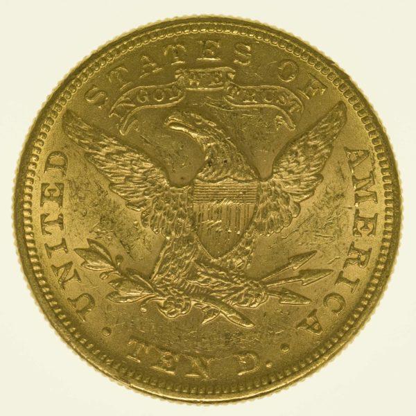 allgemein - US-amerikanische Goldmünzen: Gold aus dem wilden Westen