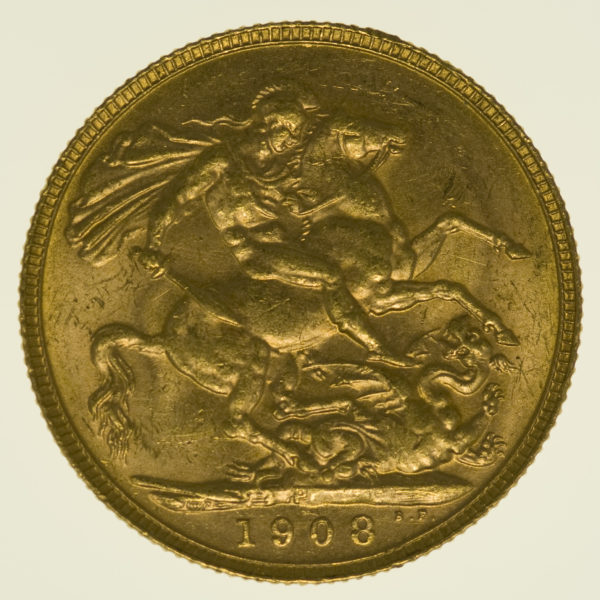australien - Australien Edward VII. Sovereign 1908 P