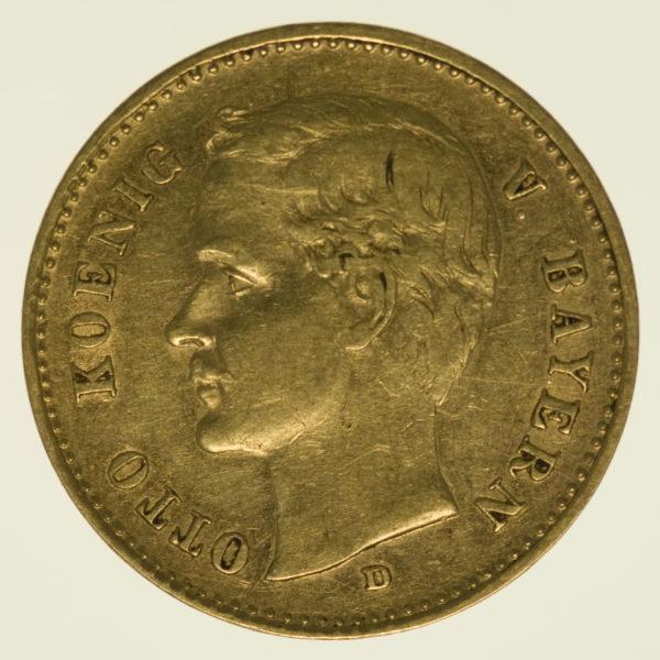deutsches-kaiserreich-ab-1871 - Bayern Otto 10 Mark 1903