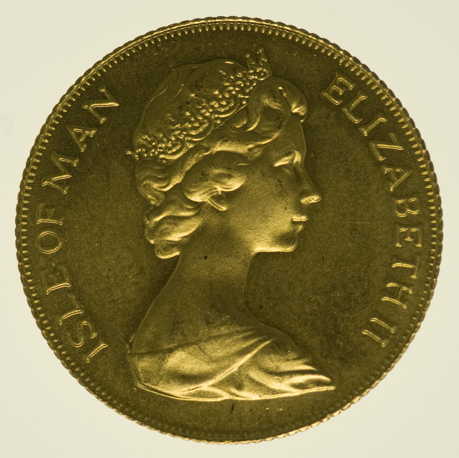 isle-of-man - Isle of Man Elisabeth II. Sovereign 1977