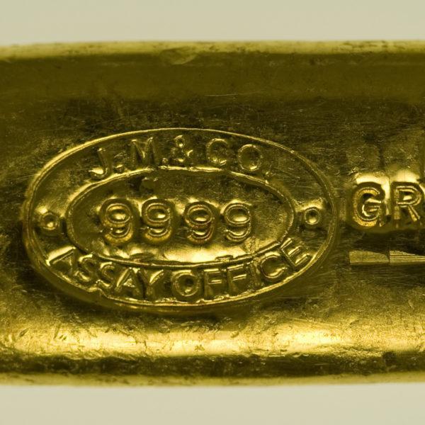 goldbarren - Goldbarren 50 GrammJohnson Matthey & Co.