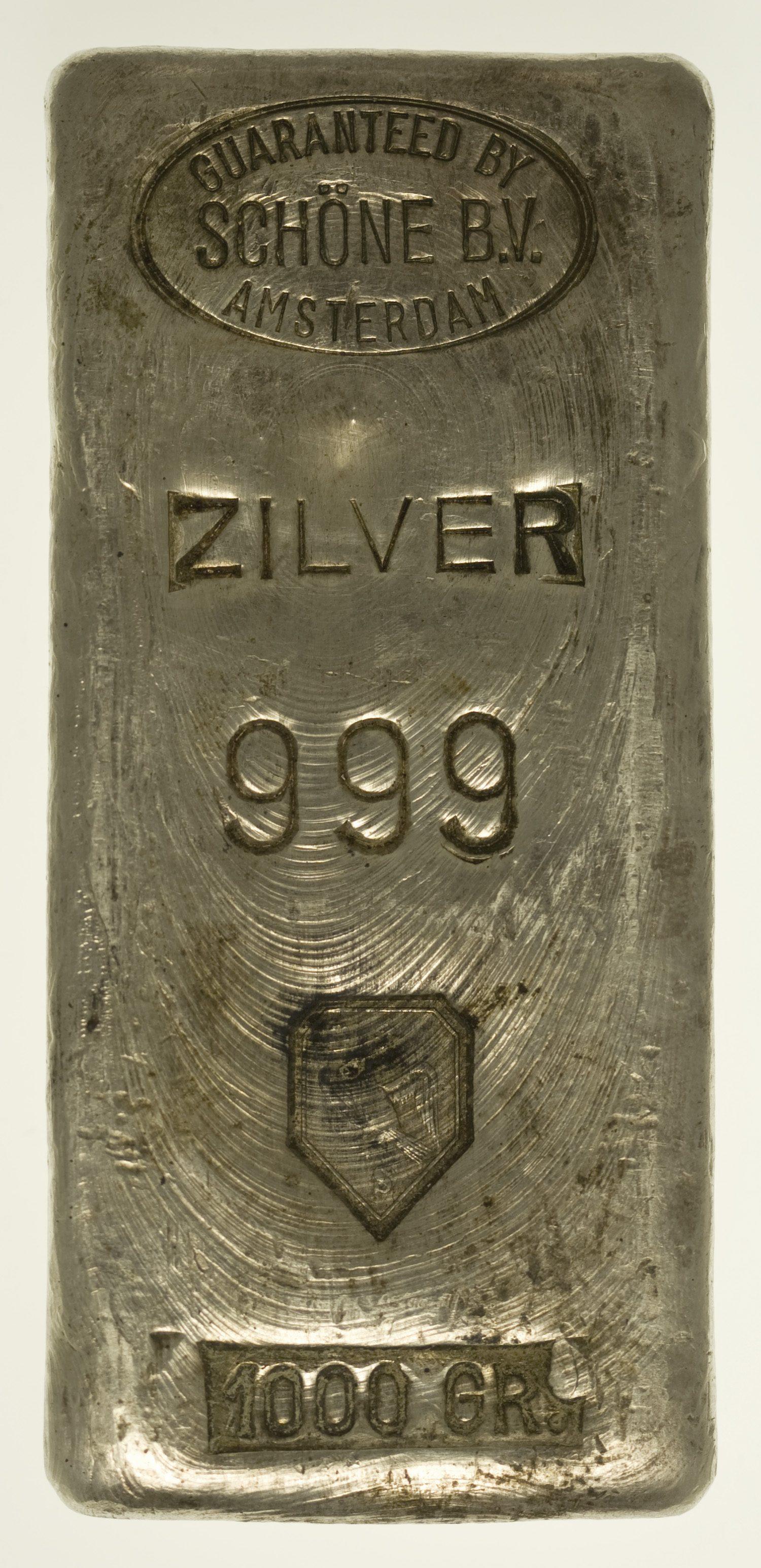 silberbarren - Silberbarren 1 Kilogramm Schöne B.V.