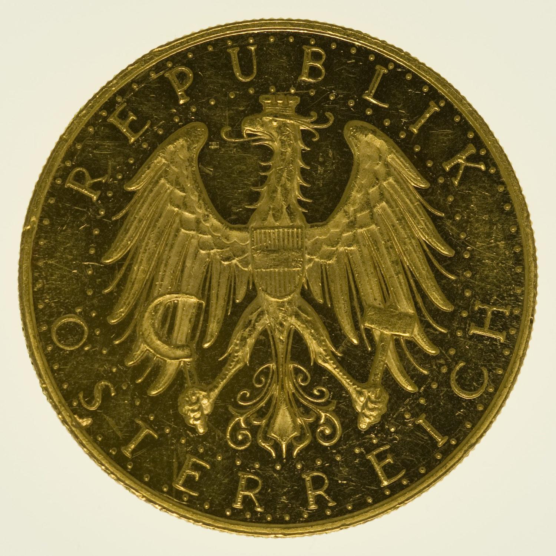 oesterreich - Österreich Republik 100 Schilling 1929