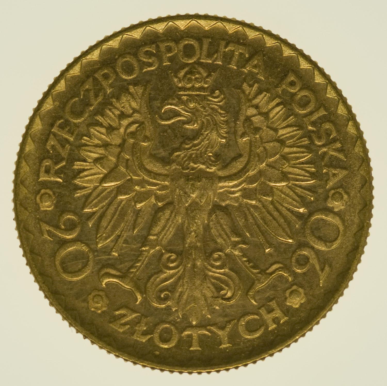 polen - Polen 20 Zloty 1925