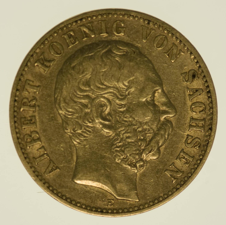 deutsches-kaiserreich-ab-1871 - Sachsen Albert 10 Mark 1888
