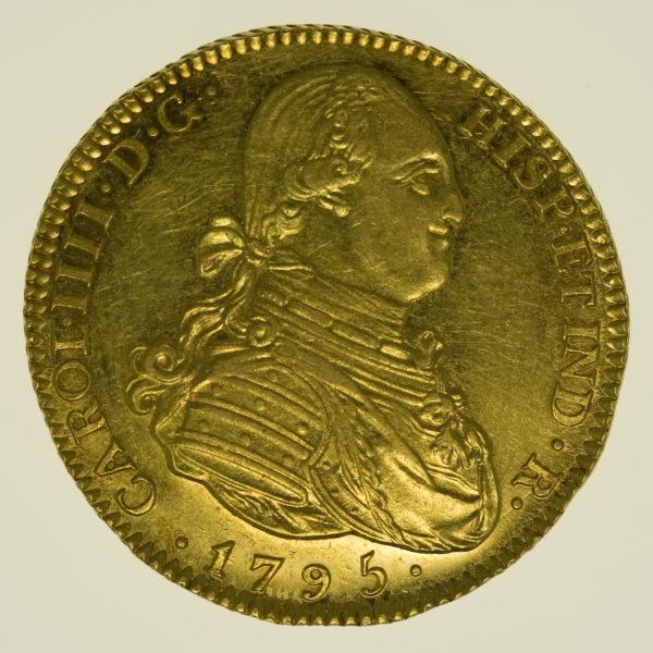 spanien - Spanien Carlos IV. 4 Escudos 1795