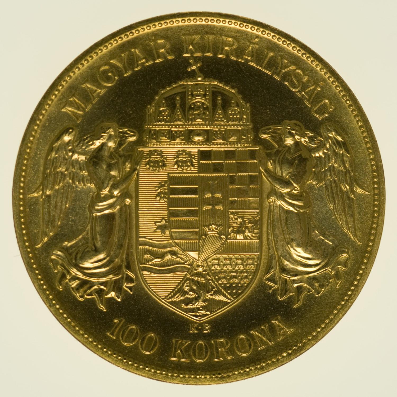 ungarn - Ungarn 100 Kronen 1908