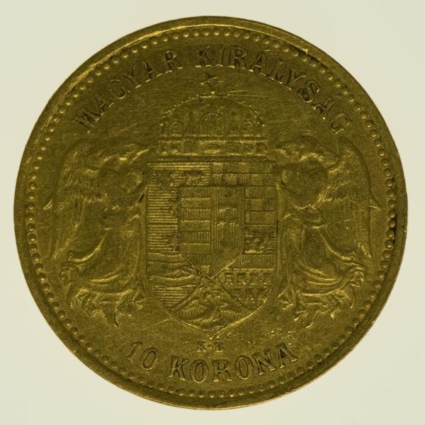 ungarn - Ungarn Franz Joseph I. 10 Kronen 1904