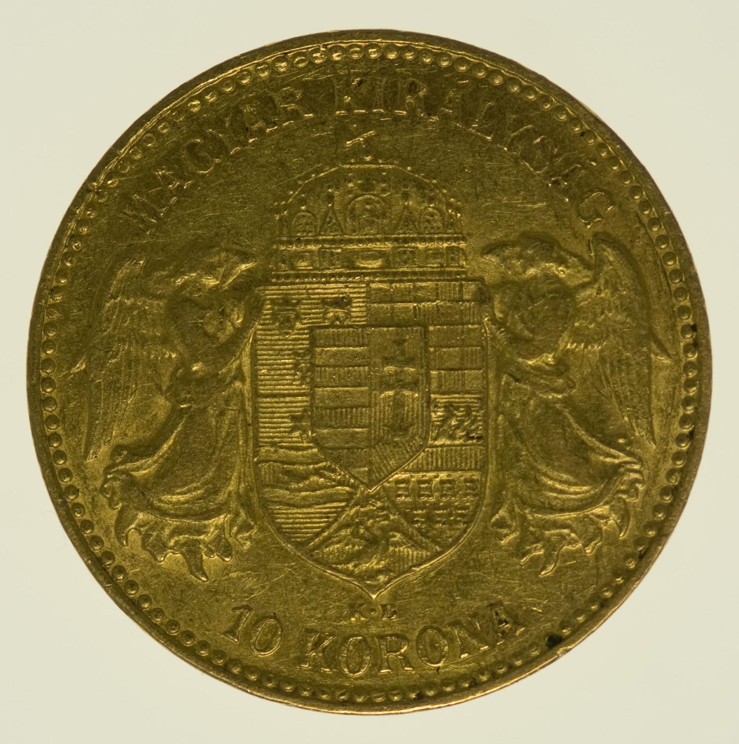 ungarn - Ungarn Franz Joseph I. 10 Kronen 1905