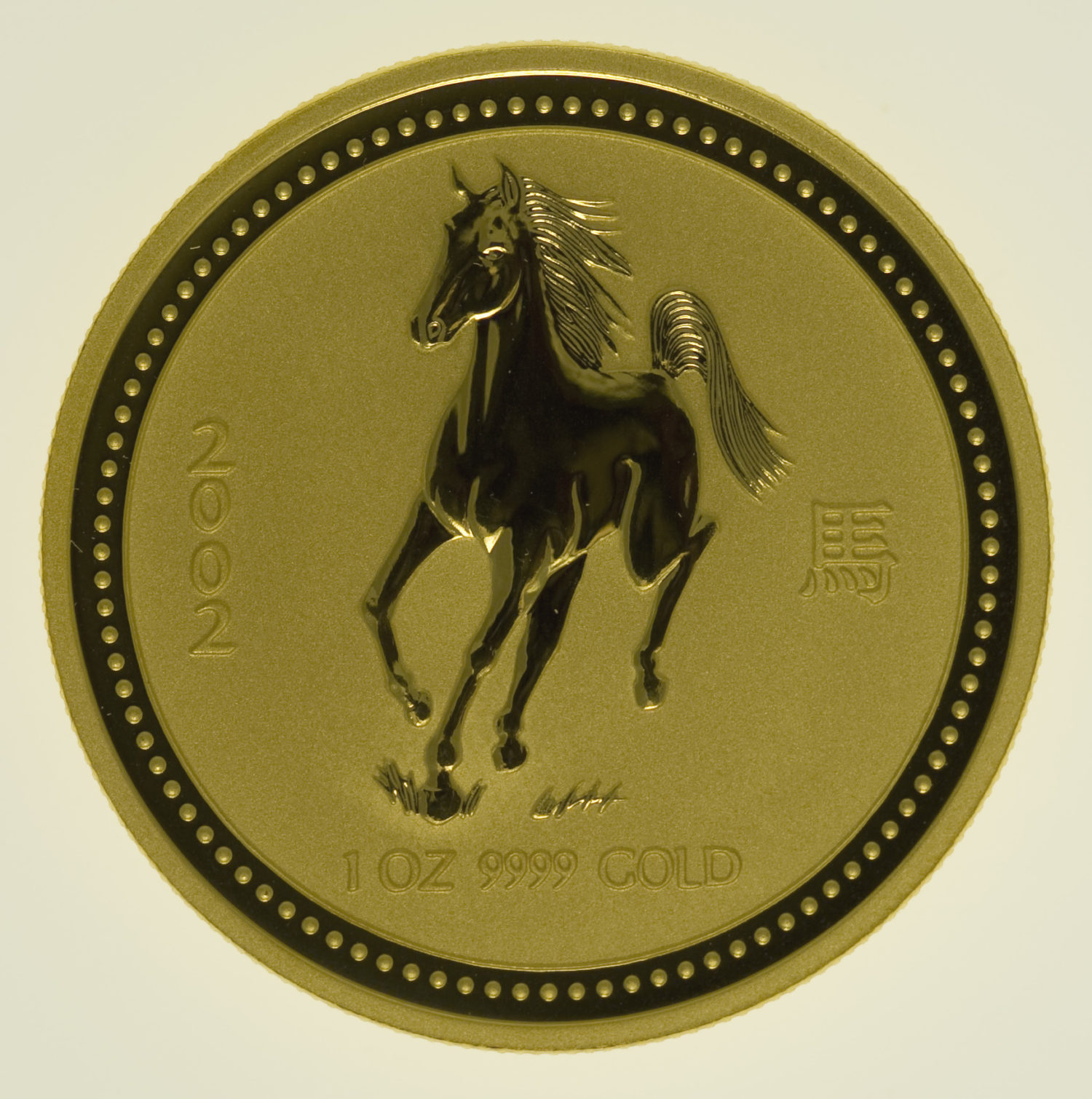 lunar-serie - Australien Lunar Serie I Pferd 1 Unze 2002