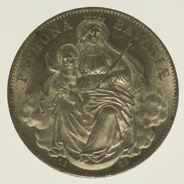 altdeutschland-deutsche-silbermuenzen - Bayern Ludwig II. Vereinstaler 1868