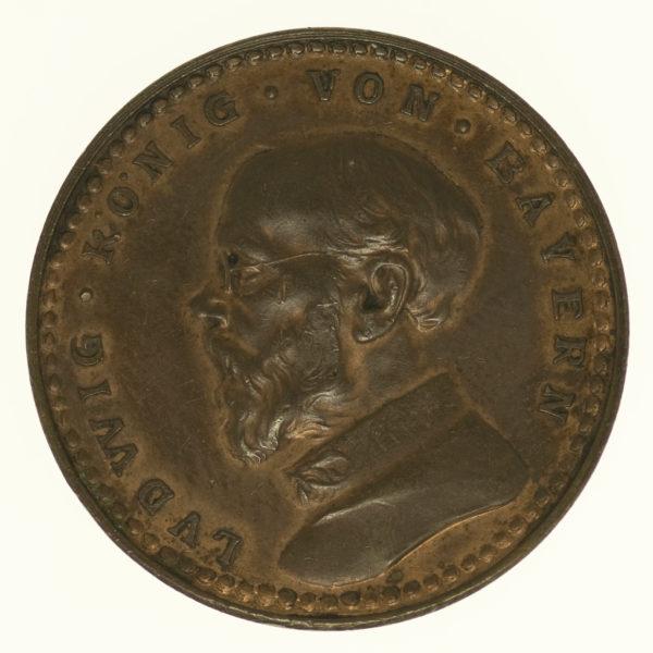 deutsches-kaiserreich-ab-1871-deutsche-silbermuenzen - Bayern Ludwig III. 2 Mark 1913 Probe
