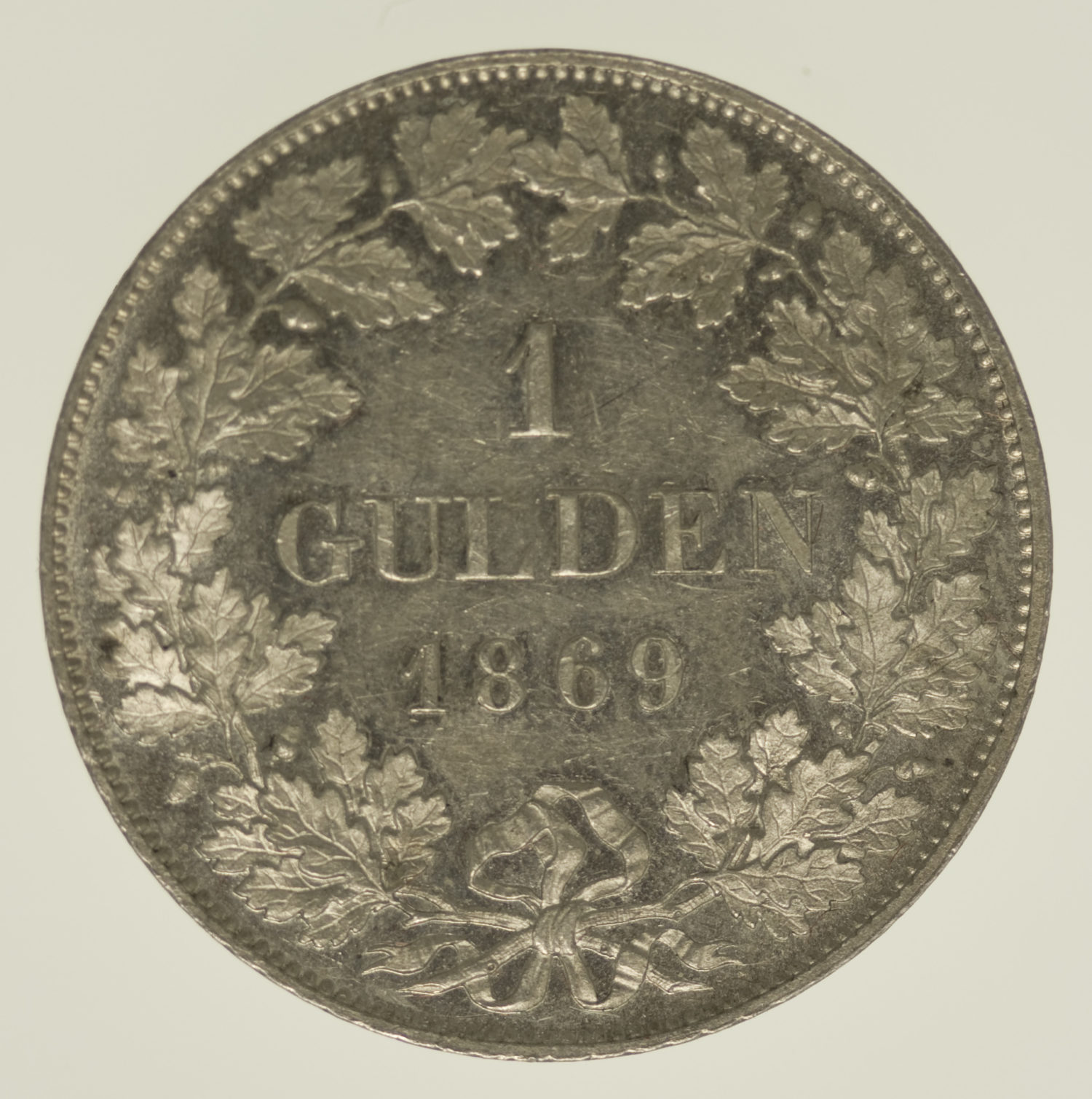 altdeutschland-deutsche-silbermuenzen - Bayern Ludwig II. Gulden 1869