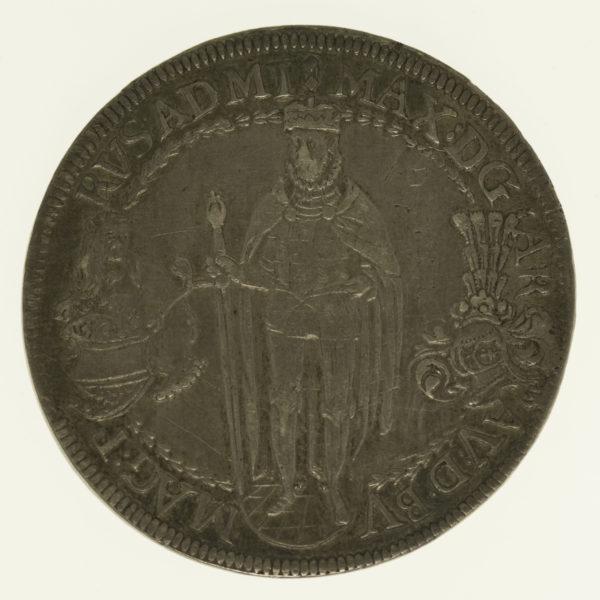 oesterreich-silbermuenzen-uebriges-europa - Tirol Deutscher Orden Maximilian I. Reichstaler 1613