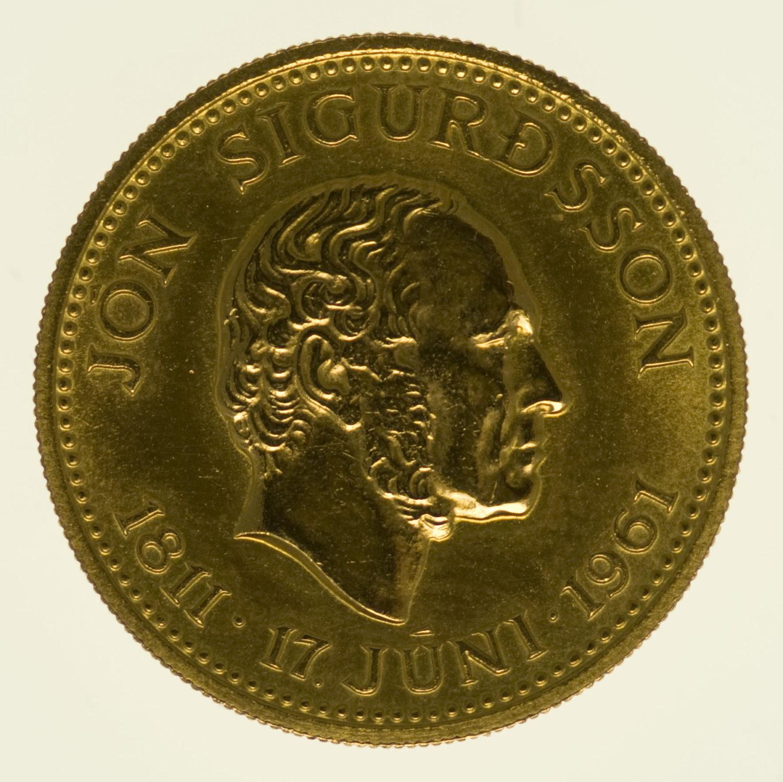 island - Island 500 Kronen 1961