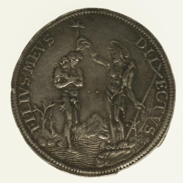 italien-silbermuenzen-uebriges-europa - Italien Cosimo III. Medici Piastra 1677