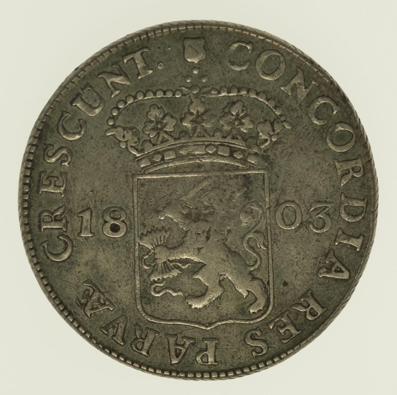niederlande - Niederlande Silberdukat 1803