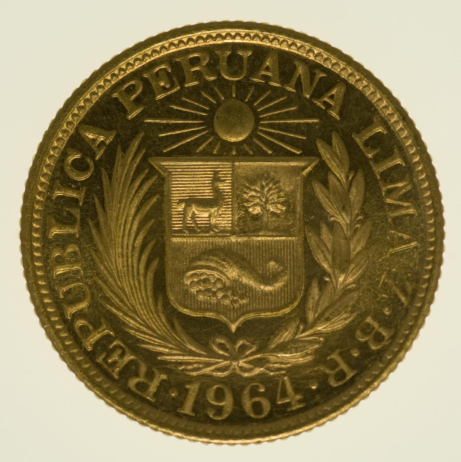peru - Peru Libra 1964