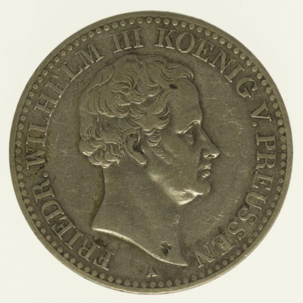 altdeutschland-deutsche-silbermuenzen - Preussen Friedrich Wilhelm III. Taler 1831