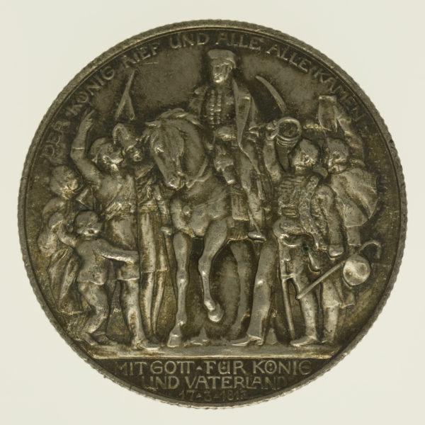 deutsches-kaiserreich-ab-1871-deutsche-silbermuenzen - Preussen Wilhelm II. 2 Mark 1913