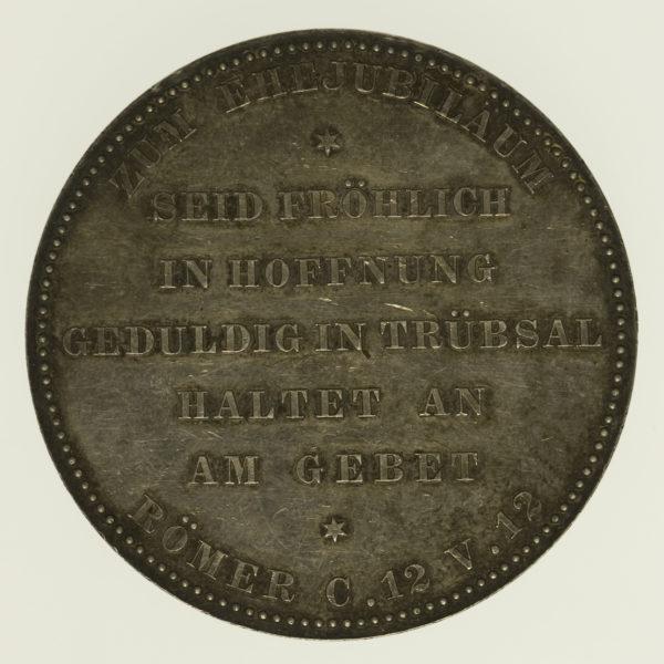 altdeutschland-deutsche-silbermuenzen - Preussen Wilhelm II. Silbermedaille o.J.