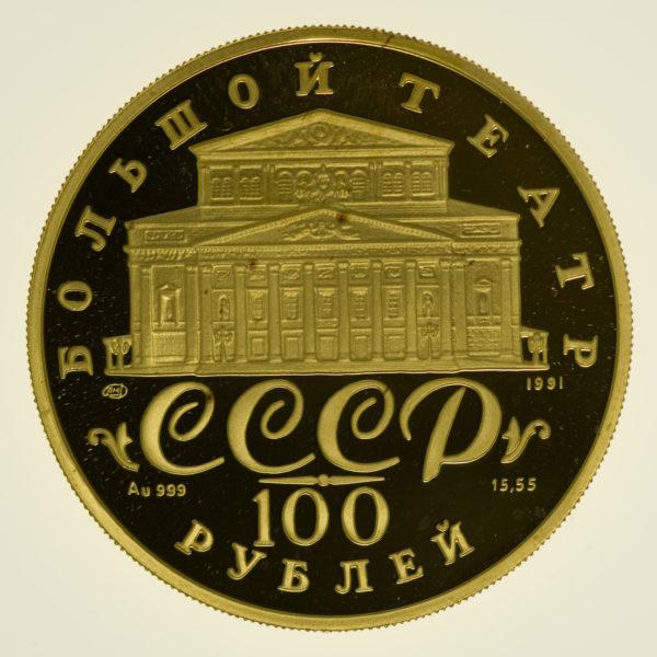 russland - Russland100 Rubel 1991