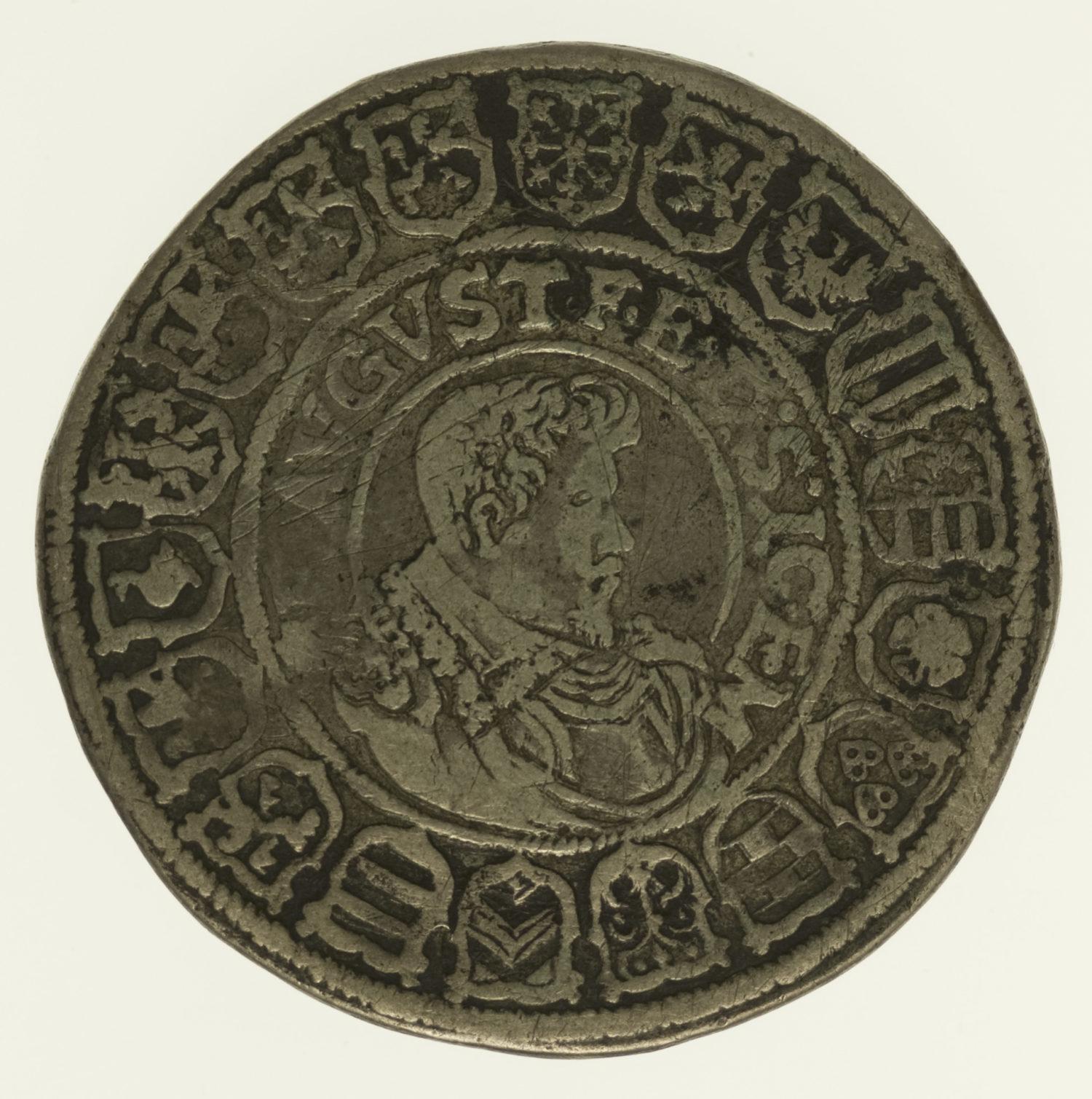 altdeutschland-deutsche-silbermuenzen - Sachsen Johann Georg I. und August Reichstaler 1613
