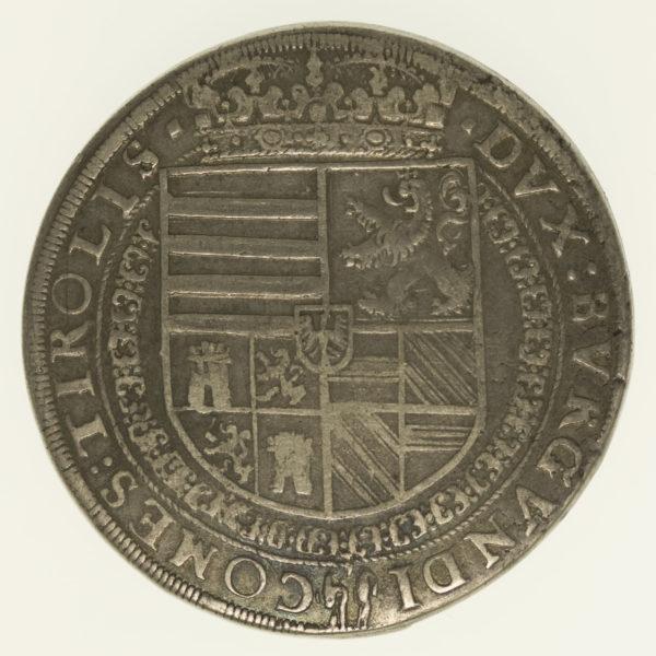oesterreich-silbermuenzen-uebriges-europa - Österreich Tirol Ferdinand Reichstaler o.J.