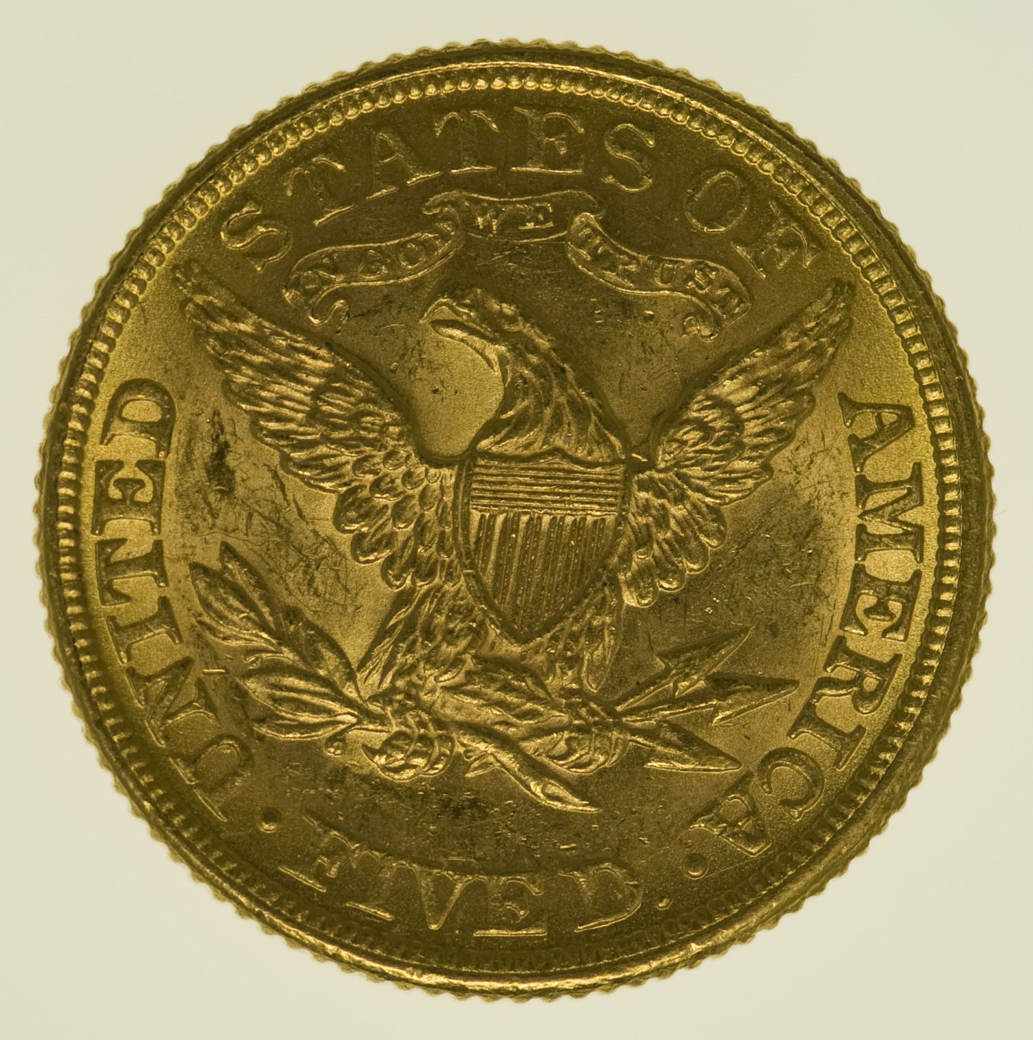 usa - USA 5 Dollars 1881 Liberty / Kopf