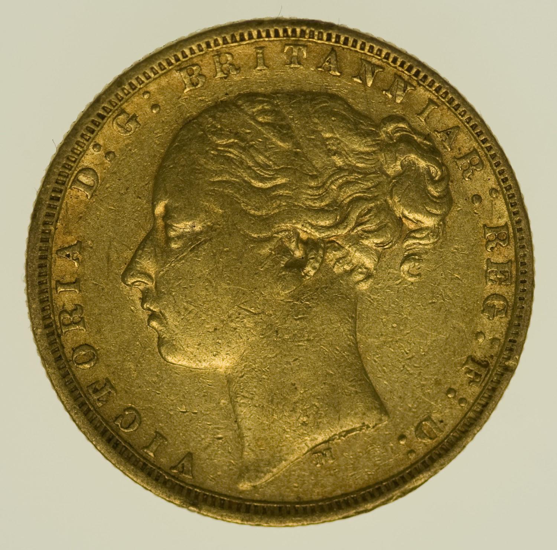 australien - Australien Victoria Sovereign 1875 M
