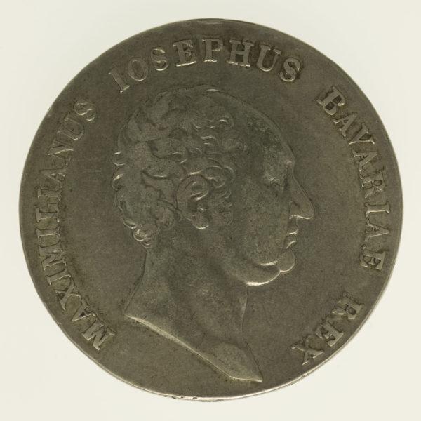 altdeutschland-deutsche-silbermuenzen - Bayern Maximilian I. Joseph Taler 1816