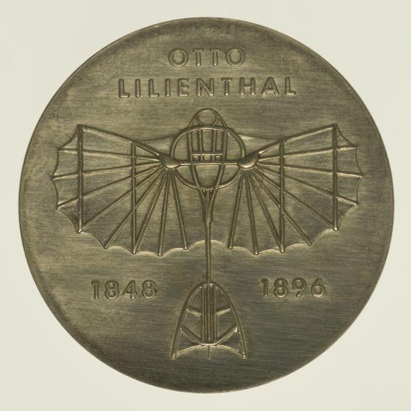 ddr-deutsche-silbermuenzen - DDR 5 Mark 1973 Lilienthal