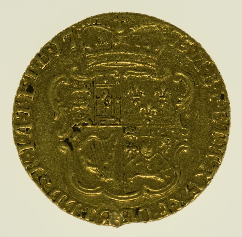 grossbritannien - Großbritannien Georg III. 1/2 Guinea 1775