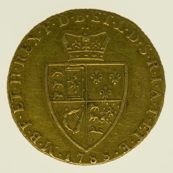 grossbritannien - Großbritannien Georg III. Guinea 1788