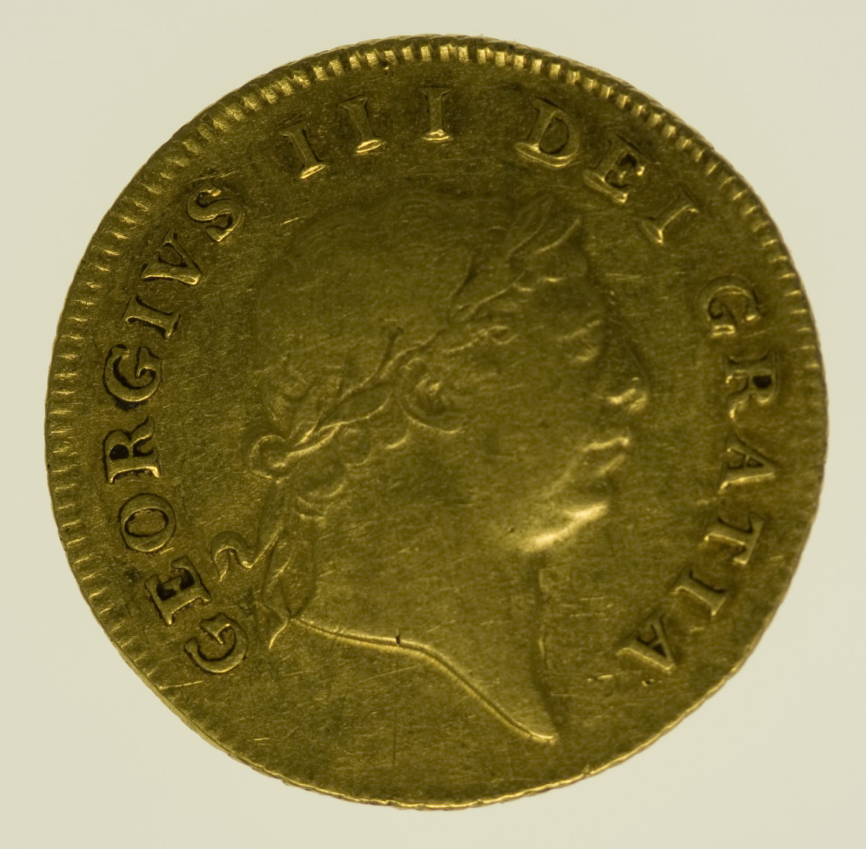 grossbritannien - Großbritannien Georg III. 1/2 Guinea 1809