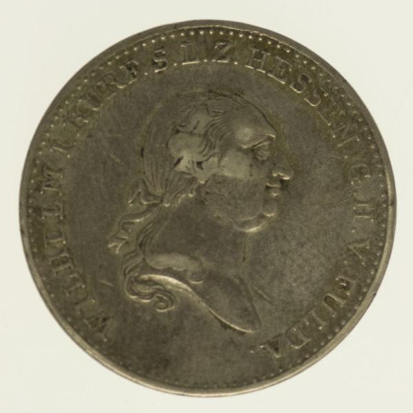 altdeutschland-deutsche-silbermuenzen - Hessen Kassel Wilhelm I. 1/2 Taler 1820