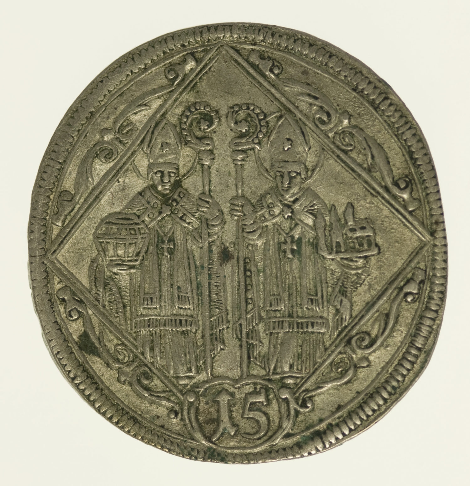 oesterreich-silbermuenzen-uebriges-europa - Österreich Salzburg 15 Kreuzer 1694