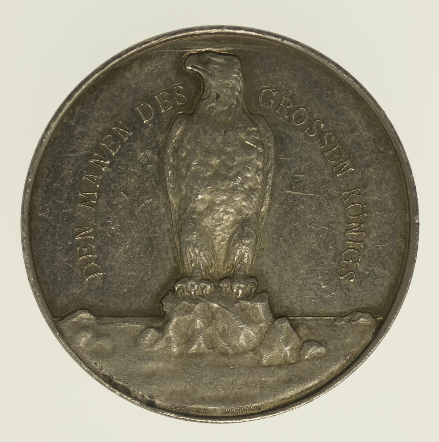 altdeutschland-deutsche-silbermuenzen - Preussen Wilhelm II. Silbermedaille 1912