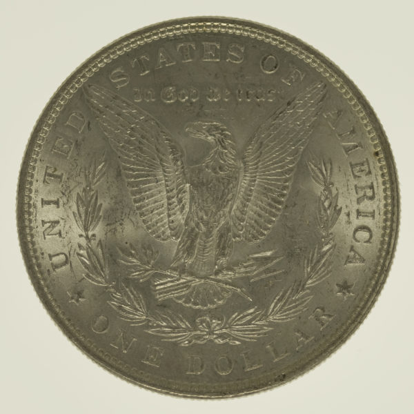 usa-silbermuenzen-uebrige-welt - USA Morgan Dollar 1883