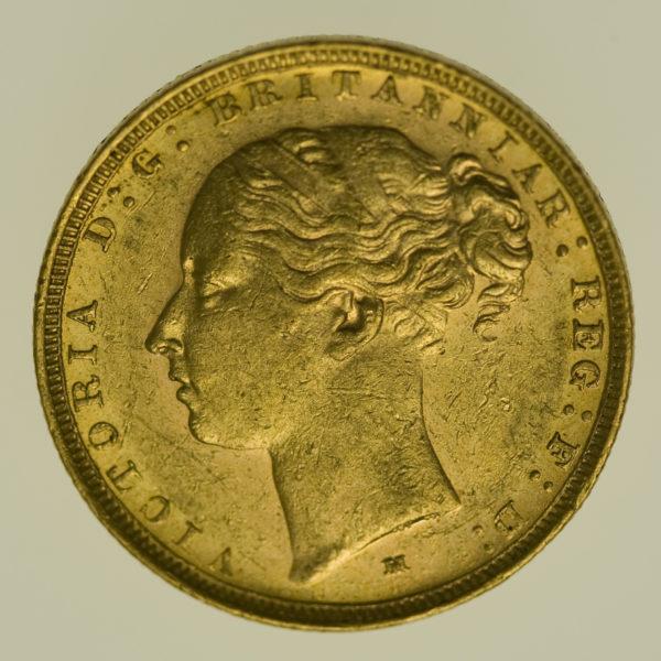 australien - Australien Victoria Sovereign 1882 M