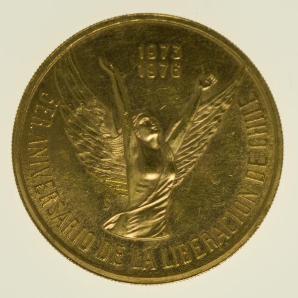 chile - Chile 100 Pesos 1976