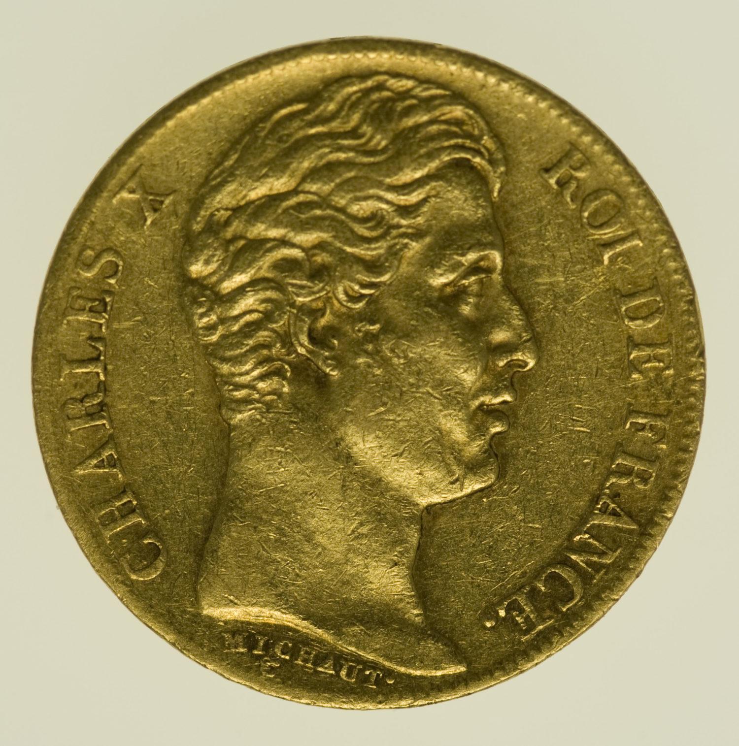 frankreich - Frankreich Charles X. 20 Francs 1826 A