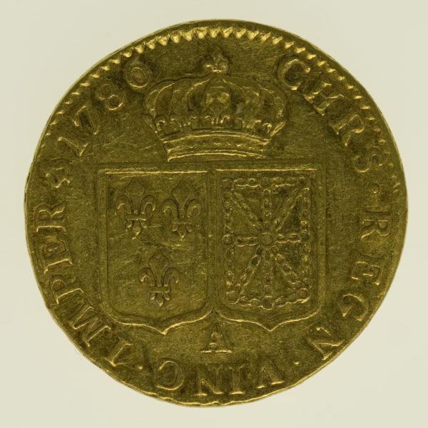 frankreich - Frankreich Louis XVI. Louis d'or 1786 A